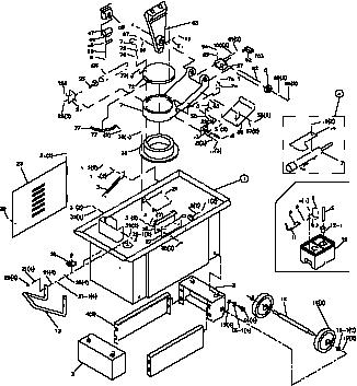 Horizontal Mitering Bandsaw